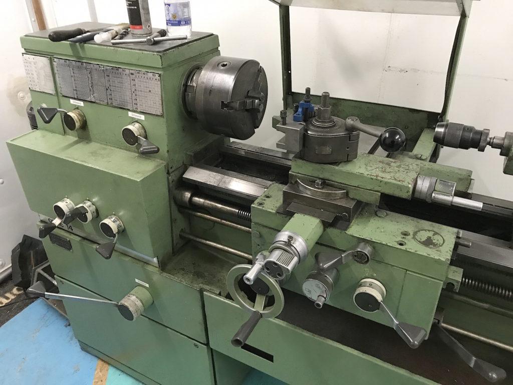 GarageLab Metallwerkstatt - Drehmaschine