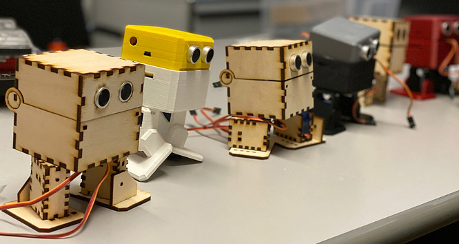 GarageLab Otto Roboter Workshop 01