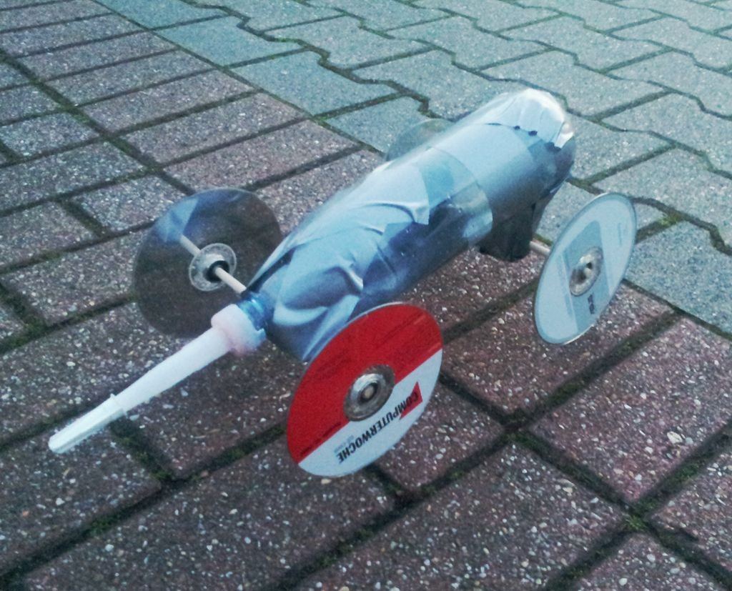 RocketDragRacer Rakete Chassis