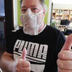 garagelab Mund-Nase-Maske Clipentwicklung - Stufe 3
