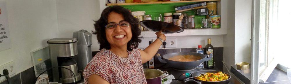 indisch kochen im GarageLab e.V: